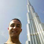 Adrian Ramirez en Burj Khalifa