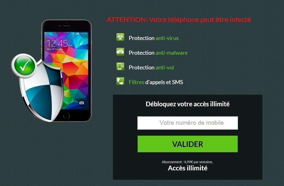 Oferta antivirus francia