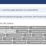 Landing page parametres in voluum