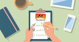 checklist markeista